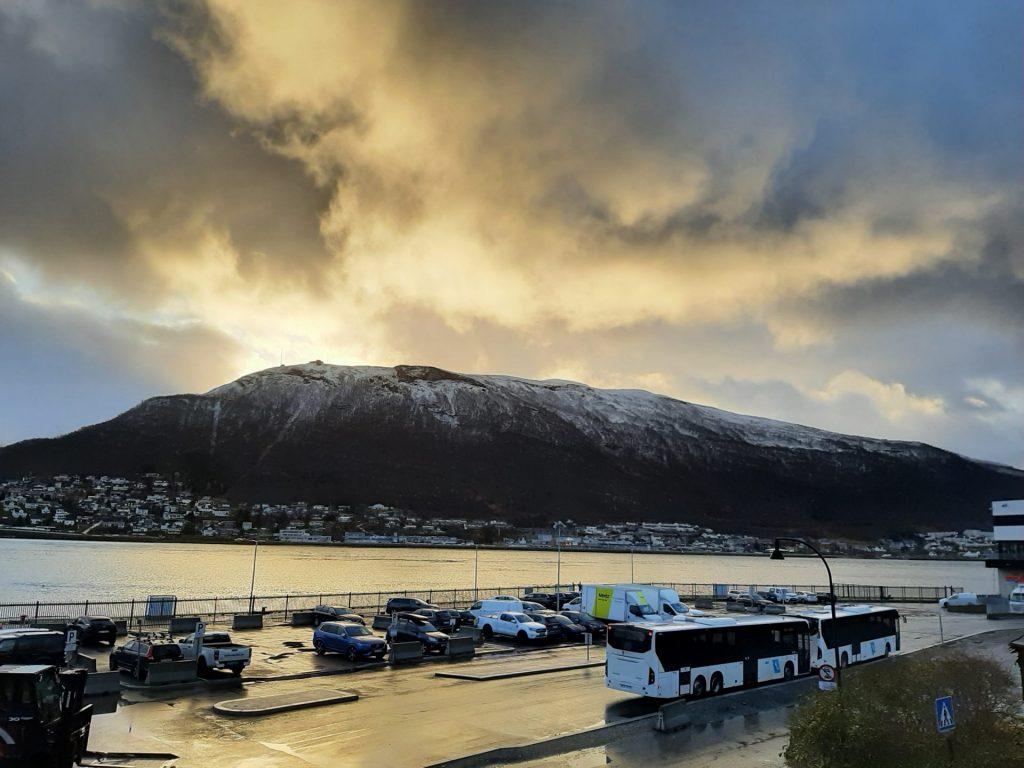 トロムソで初雪がふりました【ノルウェー生活】